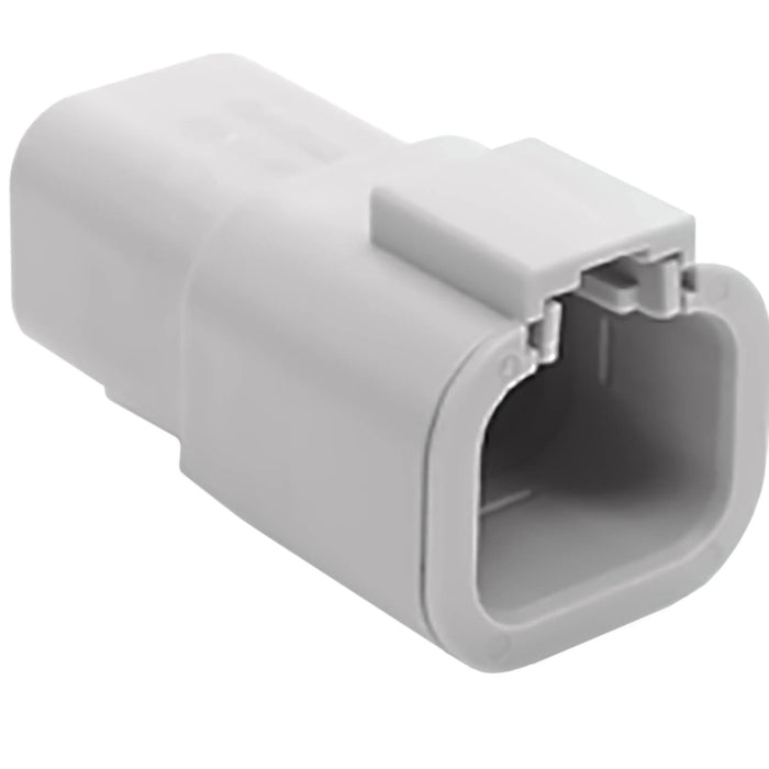 ATP04-4P - ATP Series - 4 Pin Receptacle - Gray