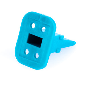 AW4S - AT Series - Wedgelock for 4 Socket Plug - Green