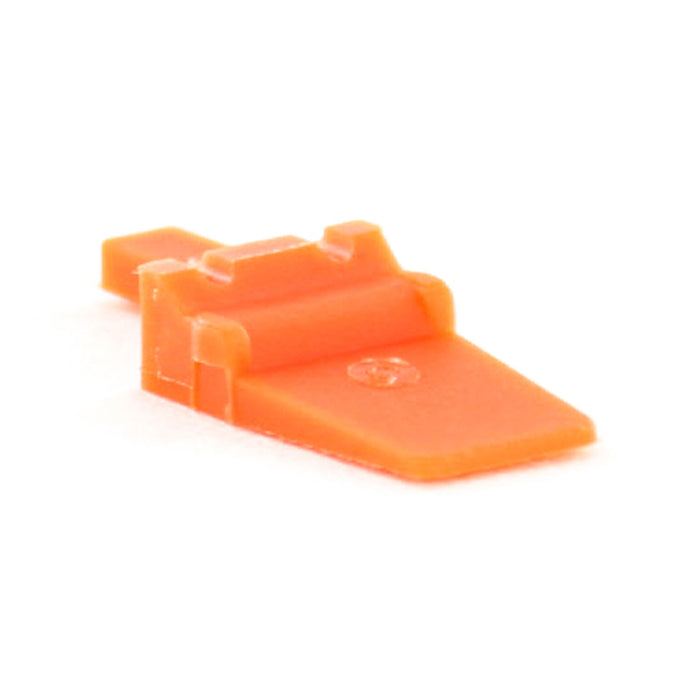 AWM-2P - ATM Series- Wedgelock for 2 Pin Receptacle- Orange