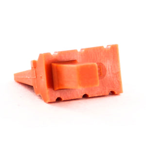AWM-6P - ATM Series - Wedgelock for 6 Pin Receptacle - Orange