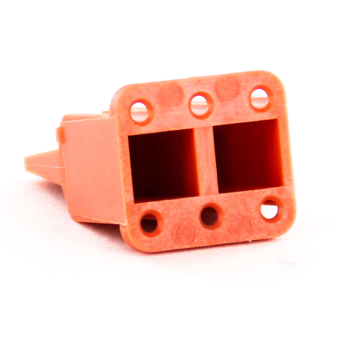 AWM-6S - ATM Series - Wedgelock for 6 Socket Plug - Orange