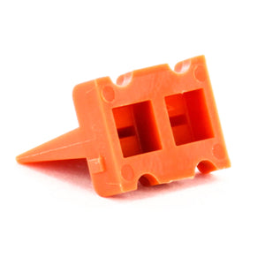 AWP-4P - ATP Series - Wedgelock for 4 Pin Receptacle - Orange