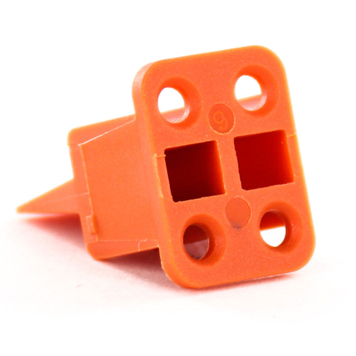 AWP-4S - ATP Series - Wedgelock for 4 Socket Plug - Orange