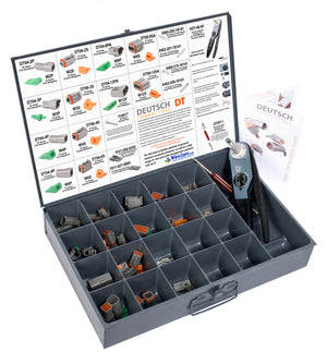 DT-GY-CK - DT, Installer Kit w/ HDT-48-00 Crimper, Gray