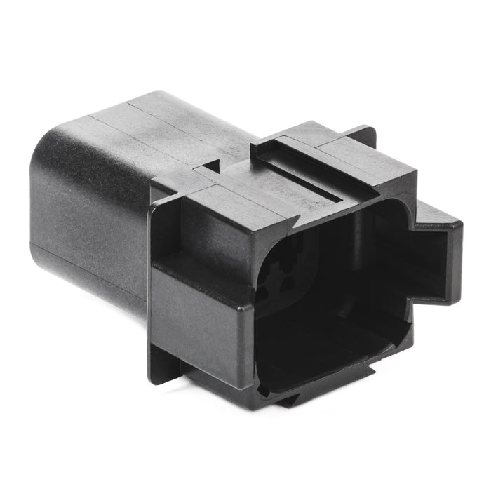DT04-08PA-E004 - DT Series - 8 Pin Receptacle -  A Key , In-line - Black