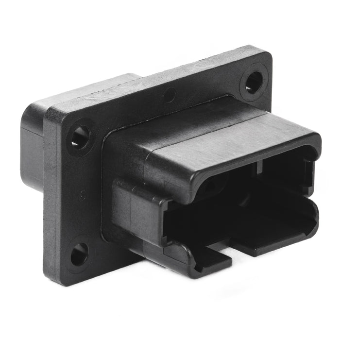 DT04-12PA-BL08 - DT Series - 12 Pin Receptacle - Enhanced A Key, Black