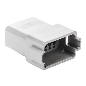 DT04-12PA - DT Series - 12 Pin Receptacle - A Key, Gray