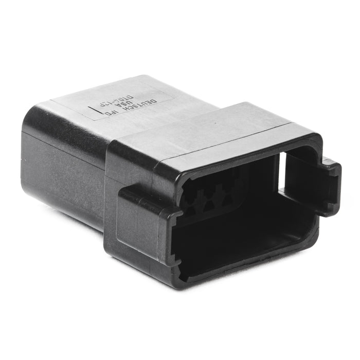 DT04-12PB - DT Series - 12 Pin Receptacle - B Key, Black