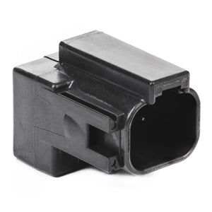 DT04-4P-RT01 - DT Series - 4 Pin Receptacle - Molded-in Diode (MUR460), Black