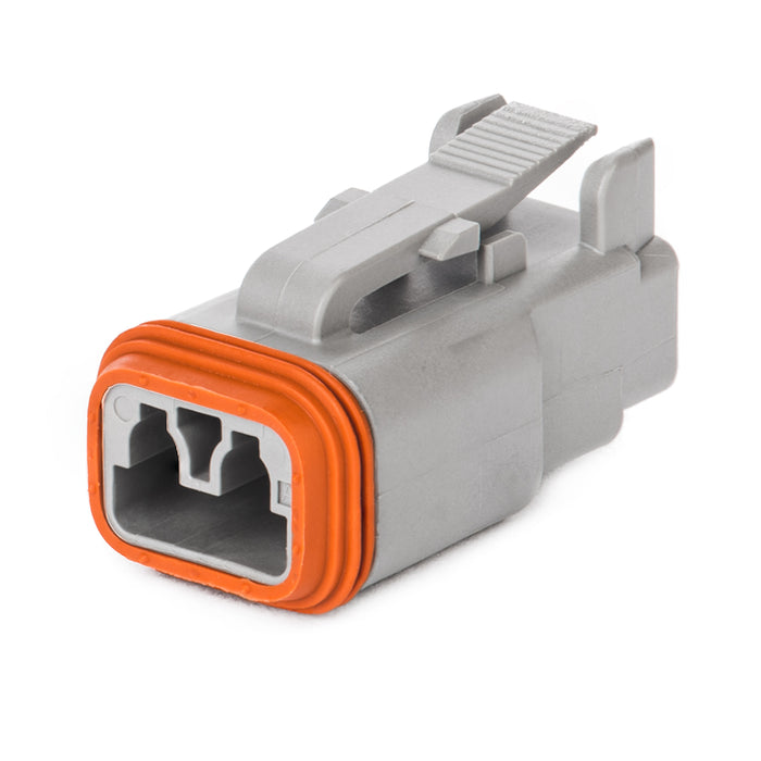 DT06-2S - DT Series - 2 Socket Plug - Gray