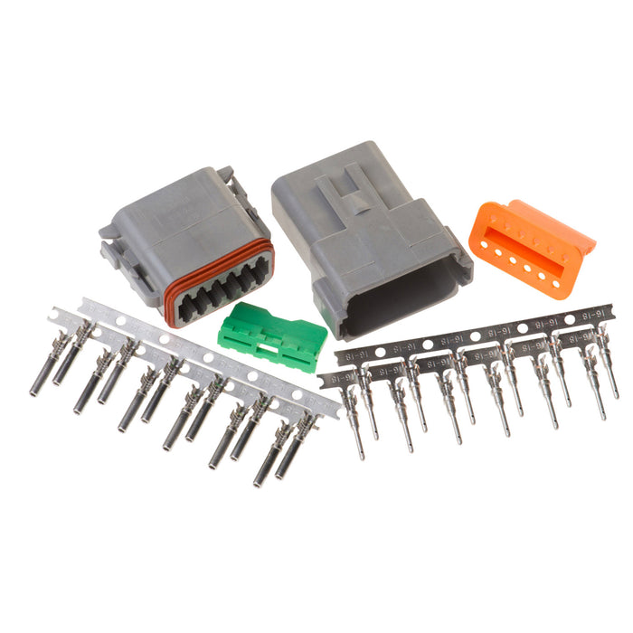 DT12GY - DT Series - 12 Pin Stamped and Formed Contact  Connector Kit