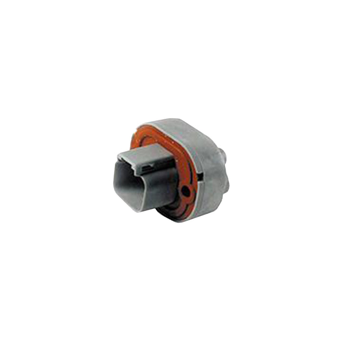 DT15-2P-P010 - DT15 Series - Receptacle - 2 Way Straight Molded Pins - 5P