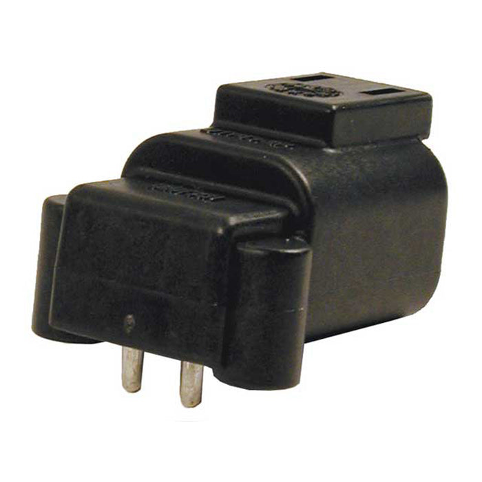 DTF13-2P - DTF - Receptacle - 2 Way, Size 16, 90°, Molded Pins, Flangeless PCB Mount