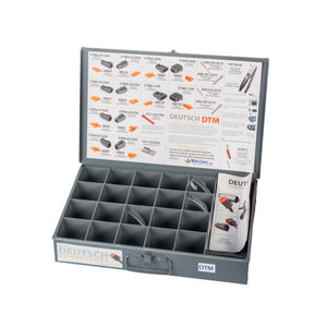 DTM-BK-K - DTM, Installer Kit w/o Crimper, Black