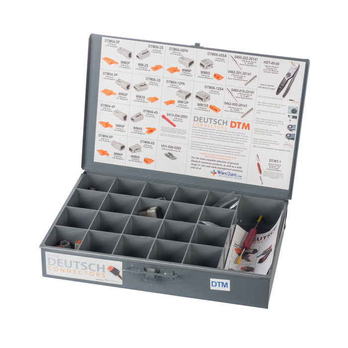 DTM-GY-K - DTM, Installer Kit w/o Crimper, Gray