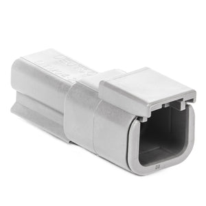 DTM04-2P - DTM Series - 2 Pin Receptacle - Gray