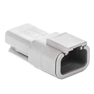 DTM04-3P - DTM Series - 3 Pin Receptacle - Gray