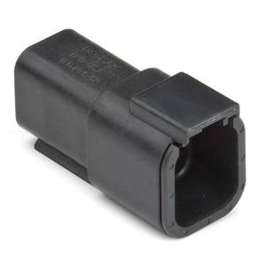 DTM04-6P-E004 - DTM Series - 6 Pin Receptacle - Black