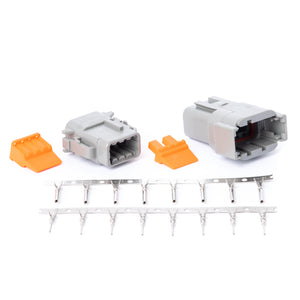 DTM08GY - DTM Series - 8 Pin Stamped and Formed Contact Connector Kit
