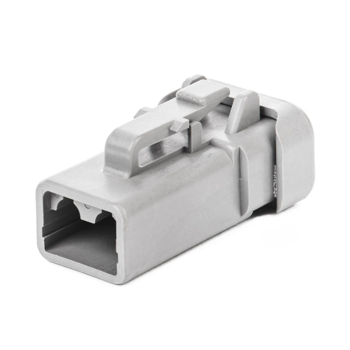 DTP06-2S-E003 - DTP Series - 2 Socket Plug - End Cap, Gray
