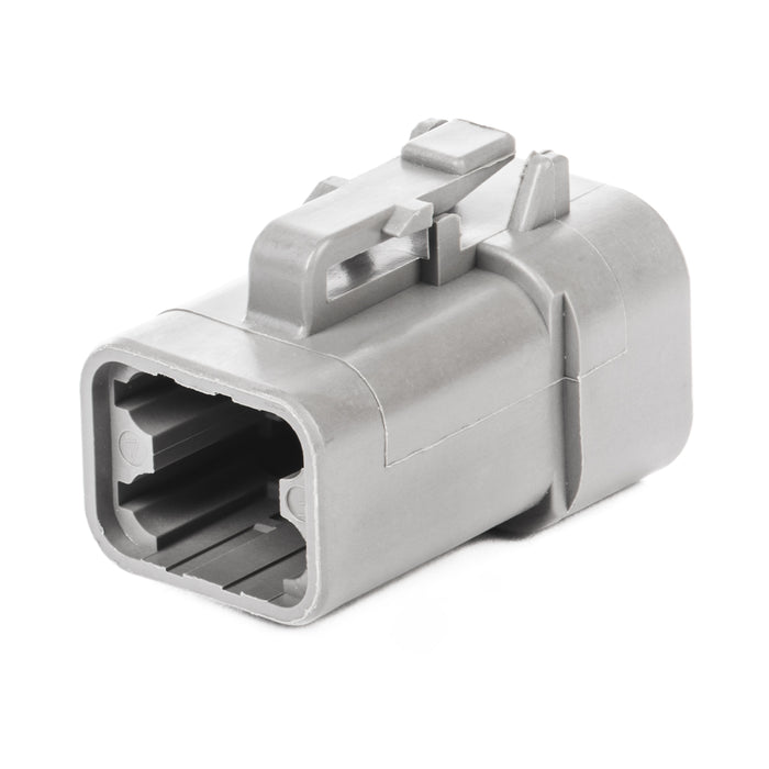 DTP06-4S - DTP Series - 4 Socket Plug - Gray