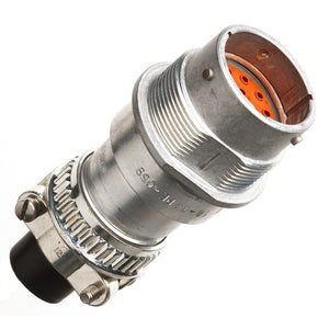 HD34-18-14PE-059 - HD30 Series - 14 Pin Receptacle - 18 Shell, E Seal, Cable Clamp, Flange