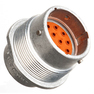 HD34-18-14PN - HD30 Series - 14 Pin Receptacle - 18 Shell, N Seal, Flange