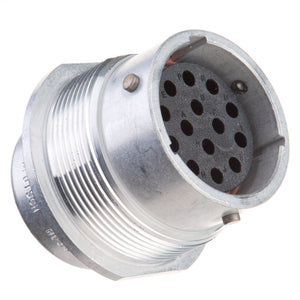 HD34-18-14SN - HD30 Series - 14 Socket Receptacle - 18 Shell, N Seal, Reverse, Flange