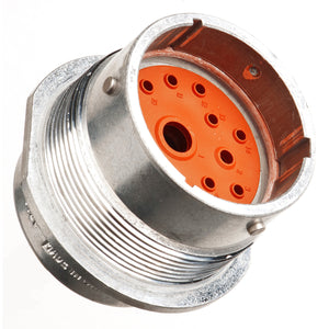 HD34-24-14PN - HD30 Series - 14 Pin Receptacle - 24 Shell, N Seal, Flange