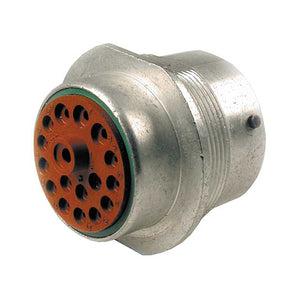 HD34-24-18SN - HD30 Series - 18 Socket Receptacle - 24 Shell, N Seal, Reverse, Flange