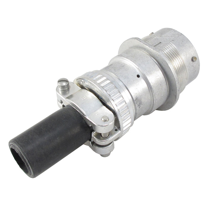 HD34-24-23SN-059 - HD30 Series - 23 Socket Receptacle - 24 Shell, N Seal, Reverse, Cable Clamp, Flange