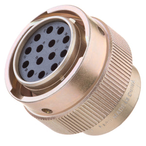 HD36-18-14SN-H001 - HD30 Series - 14 Socket Plug - 18 Shell, N Seal, Chromated
