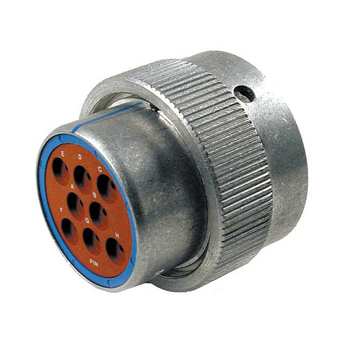 HD36-18-8PE - HD30 Series - 8 Pin Plug - 18 Shell, E Seal, Reverse