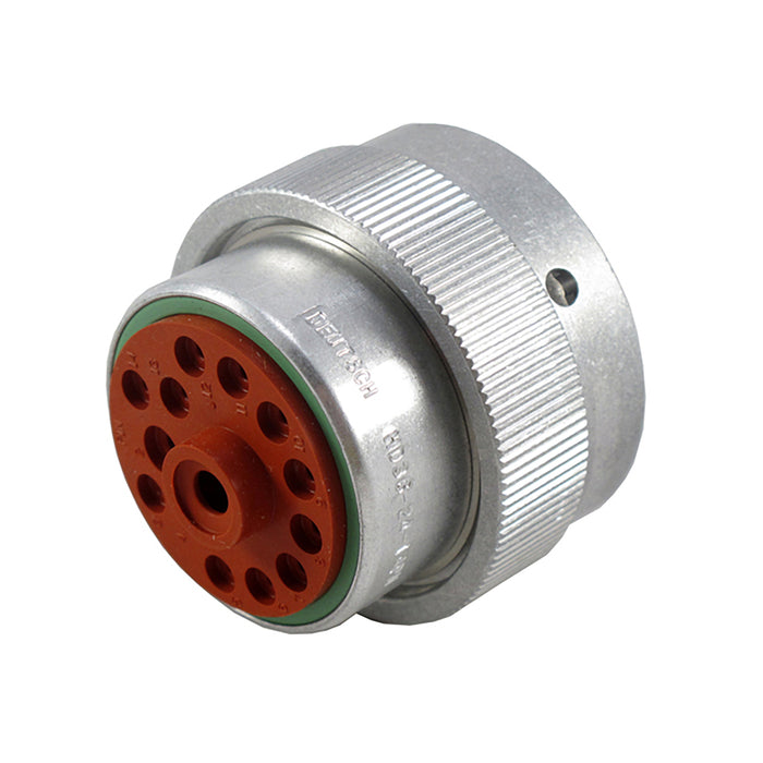 HD36-24-14PN - HD30 Series - 14 Pin Plug - 24 Shell, N Seal, Reverse