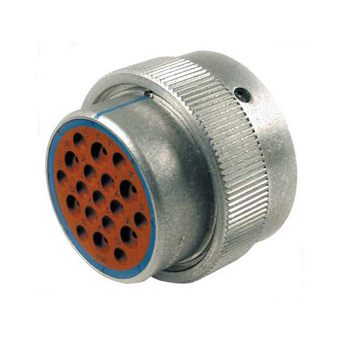 HD36-24-19PE - HD30 Series - 19 Pin Plug - 24 Shell, E Seal, Reverse