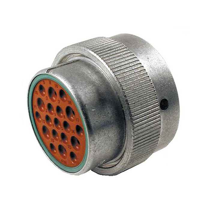 HD36-24-19PN - HD30 Series - 19 Pin Plug - 24 Shell, N Seal, Reverse