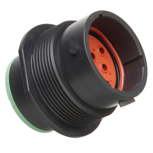 HDP24-18-8PN - HDP20 Series - 8 Pin Receptacle - 18 Shell, N Seal, Flange