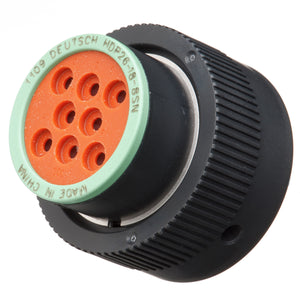 HDP26-18-8SN - HDP20 Series - 8 Socket Plug - 18 Shell, N Seal