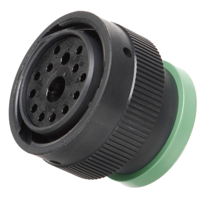 HDP26-24-14SN-L017 - HDP20 Series - 14 Socket Plug - 24 Shell, N Seal, Ring Adapter