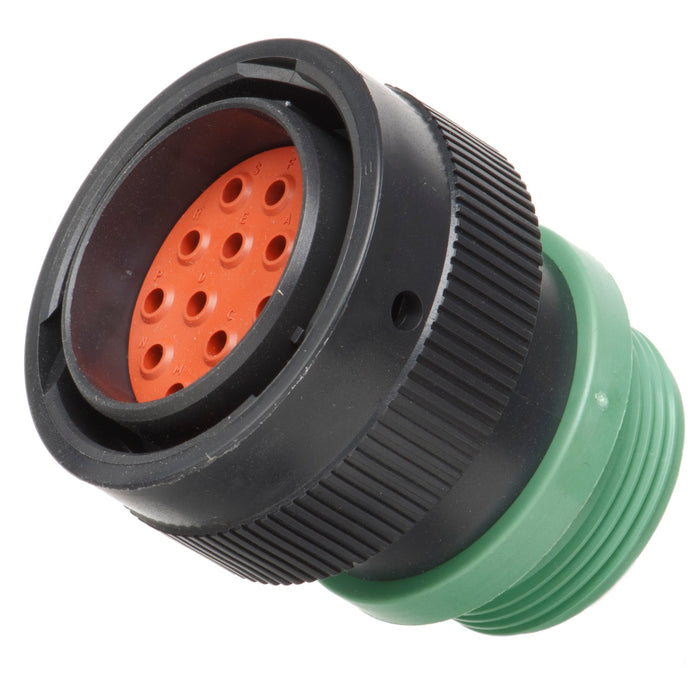 HDP26-24-16PN-L015 - HDP20 Series - 16 Pin Plug - 24 Shell, N Seal, Reverse, Threaded Adapter