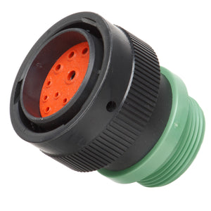 HDP26-24-18PN-L015 - HDP20 Series - 18 Pin Plug - 24 Shell, N Seal, Reverse, Threaded Adapter