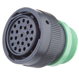 HDP26-24-23SN-L015 - HDP20 Series - 23 Socket Plug - 24 Shell, N Seal, Threaded Adapter