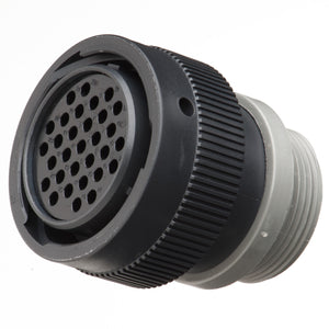 HDP26-24-31ST-L015 - HDP20 Series - 31 Socket Plug - 24 Shell, T Seal, Threaded Adapter