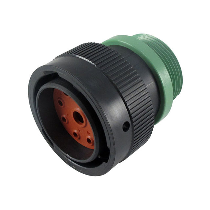 HDP26-24-9PN-L015 - HDP20 Series - 9 Pin Plug - 24 Shell, N Seal, Reverse, Threaded Adapter