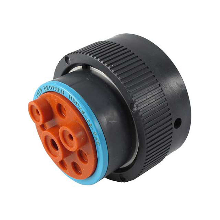 HDP26-24-9SE - HDP20 Series - 9 Socket Plug - 24 Shell, E Seal