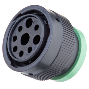 HDP26-24-9SN-L017 - HDP20 Series - 9 Socket Plug - 24 Shell, N Seal, Ring Adapter