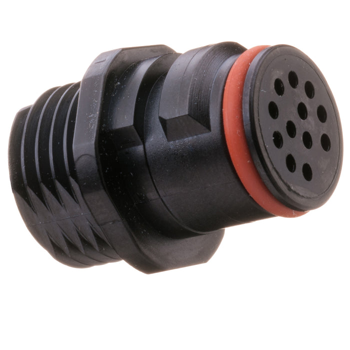 QC26-2212X - Quick Connect Series - Plug - 12 Contact, Size 22, Black