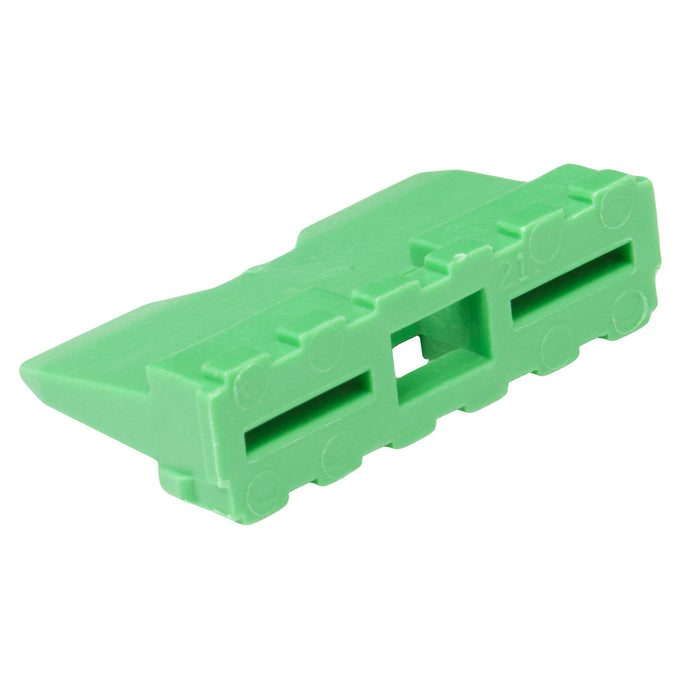 W12P - DT Series - Wedgelock for 12 Pin Receptacle - Green