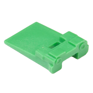 W2P - DT Series - Wedgelock for 2 Pin Receptacle - Green