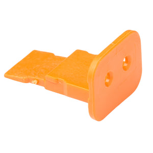 W2S - DT Series - Wedgelock for 2 Socket Plug - Orange